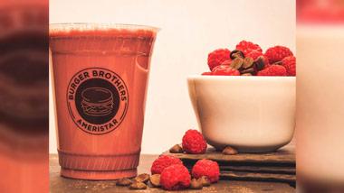 Chocolate Raspberry Shake