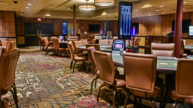 Baccarat Room at Ameristar Casino East Chicago