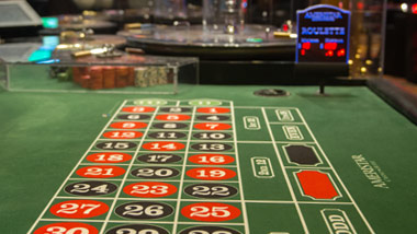Roulette Table at Ameristar Casino East Chicago